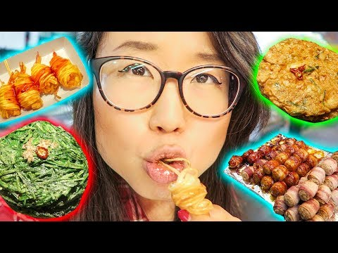 KOREAN NIGHT MARKET Street Food Tour