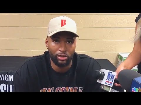 DeMarcus Cousins On Joining Warriors and...