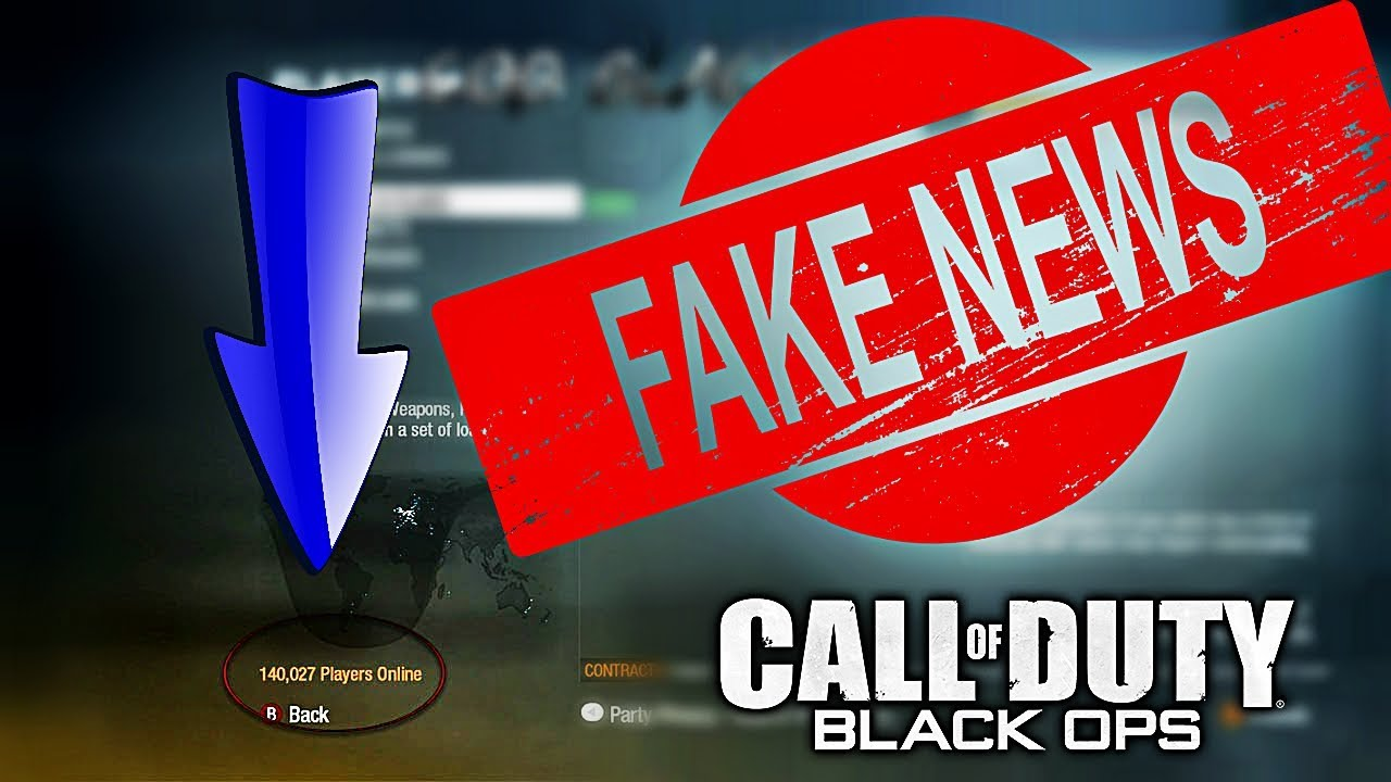 So   The Black Ops 1 Player Count is FAKE?!