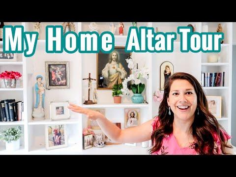 MY HOME ALTAR  || CATHOLIC 2020