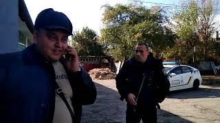 Patrol politsiya ko'chada 08 oktyabr 2019 Lebedinskaya 9 Sumy