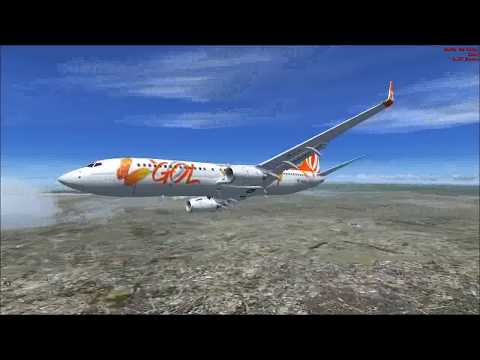 FSX Passeio 737 -800 GOL Sobre SP  - VL 2