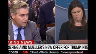 SARAH HUCKABEE SANDERS SAYS JUDGES RULING ON JIM ACOSTA BADGE A WHITE HOUSE WIN