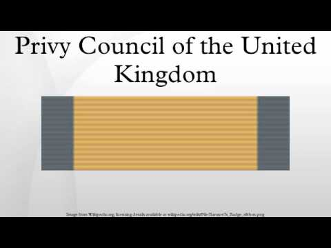 Privy Council of the United Kingdom