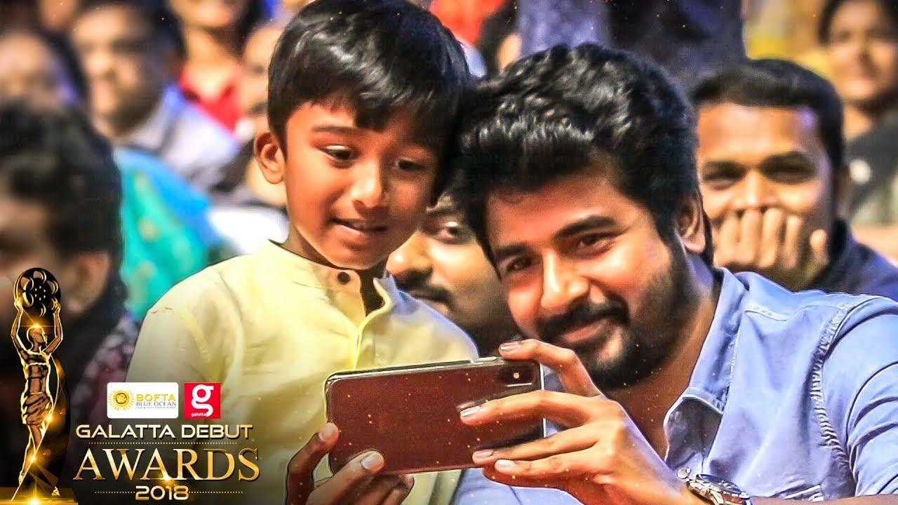 FIRST TIME EVER: Vikram & Sivakarthikeyan Turn VJ In Galatta Debut Awards!