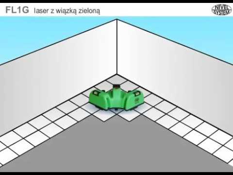 Nivela laser pentru pardoseli FL1 / FL1G NIVEL SYSTEM @ ToolsZone.ro