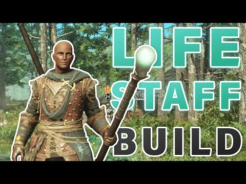 Download How to HEAL with Life Staff Build | Tips ► New World