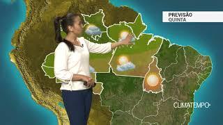 Previsão Norte – Alerta para temporais em RR