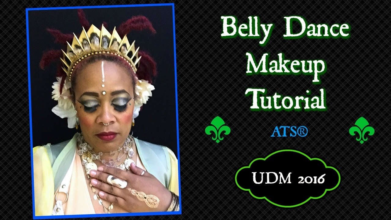 Belly dance makeup tutorial tribal ats makeup udm 2016 youtube belly dance makeup tutorial tribal ats makeup udm 2016 baditri Image collections