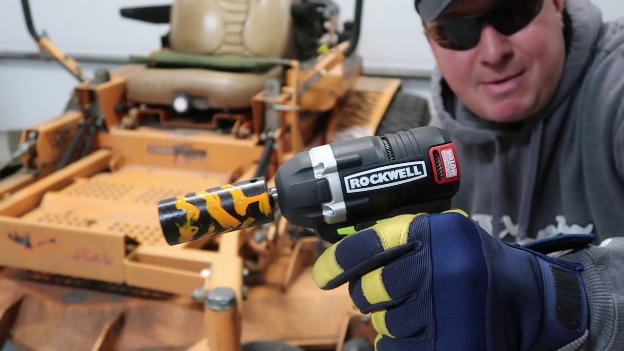 "ROCKWELL 1/2"" IMPACT WRENCH 20V RK2855K2- TOOL REVIEW ..."
