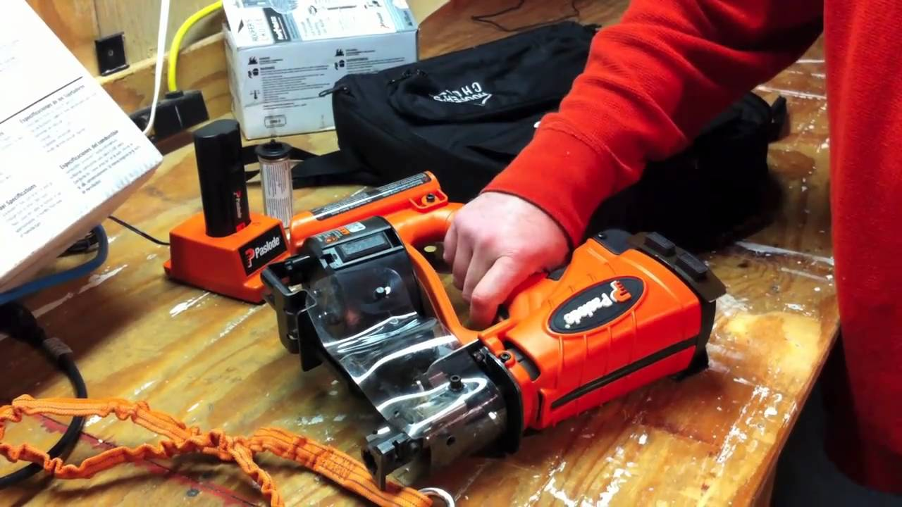 Nice Paslode CR175C CORDLESS ROOFING NAILER   Review