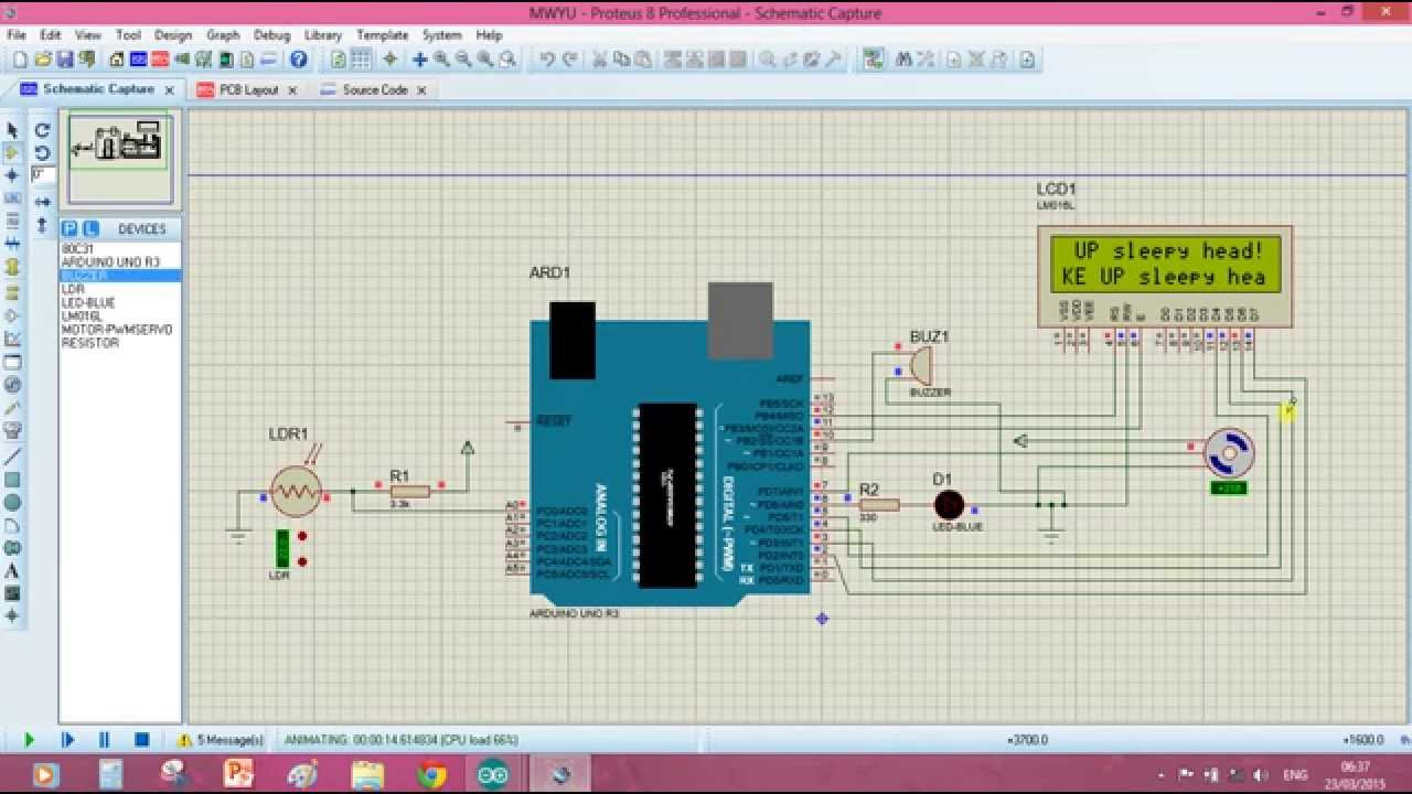 Dual Axis Solar Tracker Using Arduino Project Report Pdf Pin Circuit Lm339 4 On Pinterest Proteus Simulation Youtube