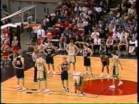1999 Oregon state championship:  North salem vs Jesuit, Mike Dunleavy Jr. pre-nba