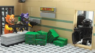 Lego SWAT Bank Robbery Fail - Episode 5 Stop Motion Animation