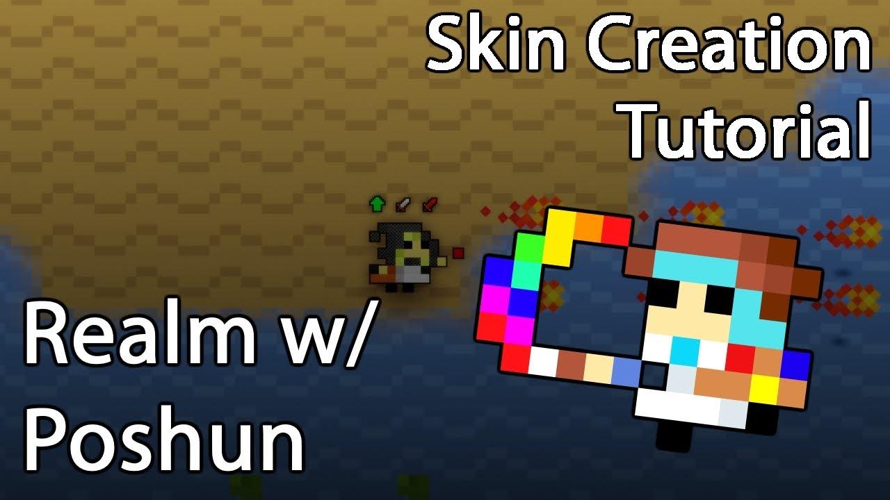 rotmg skin creation tutorial using paint net youtube