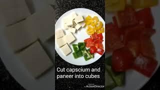 VRK diet or vegan keto tasty, panner tikka like restaurant style