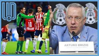 El presidente de la Comisión de Arbitraje reconoce que César Ramos Palazuelos tuvo una mala actuación arbitral en el América vs Chivas
