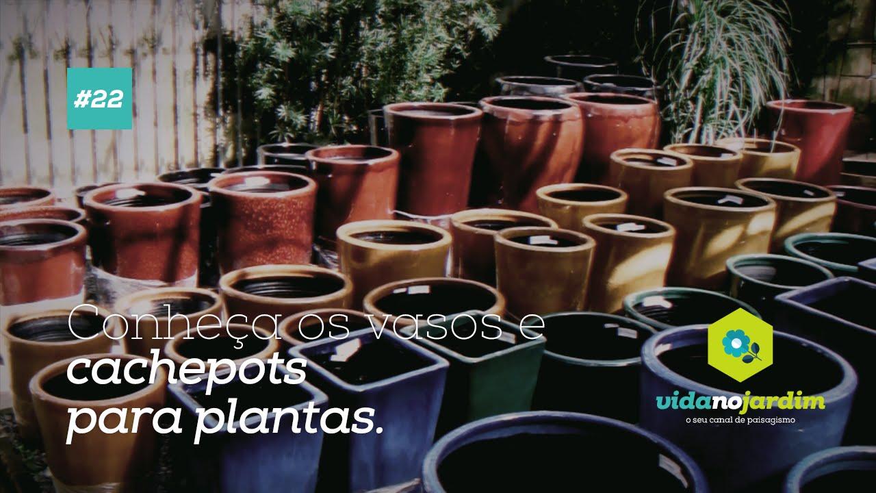 Vasos E Cachepots Para Plantas