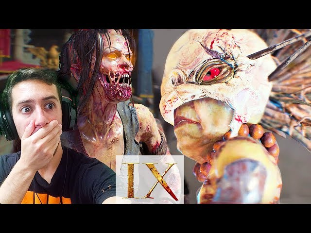 Black Ops 4 Zombies - IX GAMEPLAY TRAILER - NEW Magma Staff, Elixir Perks, Wunder Weapons