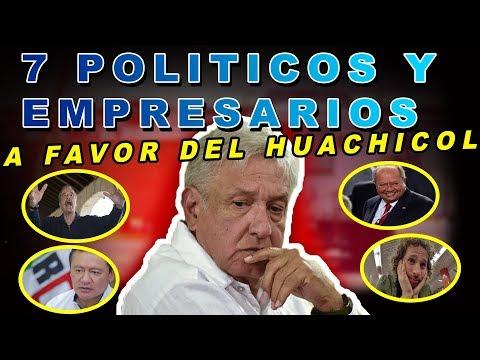 POLITICOS Y EMPRESARIOS QUE QUISIERON G0LPE4R LA ESTRATEGIA DE AMLO CONTRA EL HUACHICOLEO