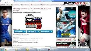 Como Instalar Kitserver 13 (Soporte GDB) PES 2013