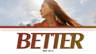 Download BOA (보아) 'BETTER' Lyrics (Han/Rom/Eng)