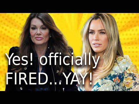Bravo Officially Fires Teddi RHOBH! Lisa Vanderpump Those Shades When She Hears The News