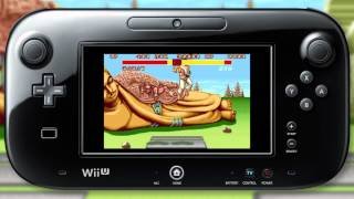 Street Fighter 2: The World Warrior, Hyper Fighting, The New Challengers Wii U VC trailers