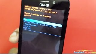 How to Flash Upgrade Asus Zenfone GO X014D via Sd Card + Firmware