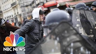 Protests In Paris Over Alleged Police Rape   NBC News