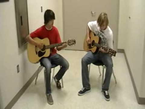 Brandon McKinzie and Mason Shelnutt