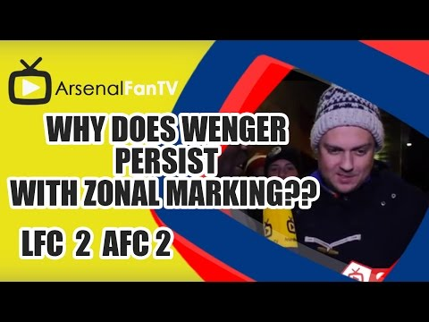 Why Does Wenger Persist With Zonal Marking?? - Liverpool 2 Arsenal 2