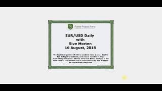 Forex Peace Army | Sive Morten EURUSD Daily 08.16.18