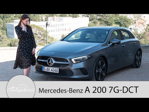 2018 Mercedes-Benz A-Klasse A 200 7G-DCT Fahrbericht / Tech-Fest der Kompaktklasse - Autophorie