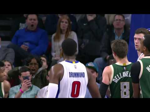 Milwaukee Bucks at Detroit Pistons - December 28, 2016