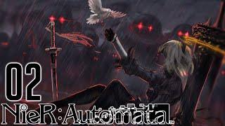 NieR Automata | EP 2 | LA RESISTENCIA