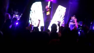 Uncomfortable Tour Andy Mineo NYC, Hear my Heart