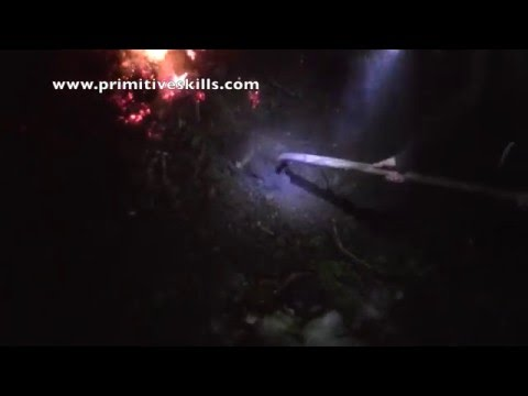 Winter Survival Shelter - Hot Coal Bed
