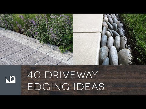 40 Driveway Edging Ideas