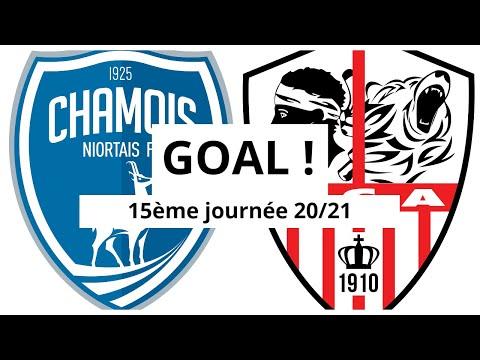 Niort AC Ajaccio Goals And Highlights