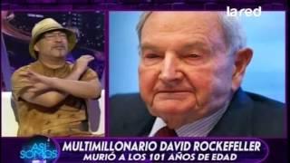 La historia que desconocías de David Rockefeller