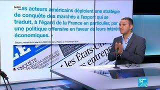 L'espionnage économique américain des entreprises françaises
