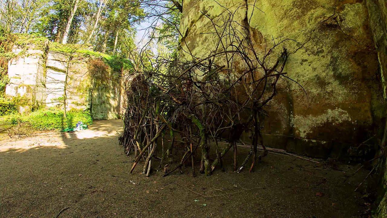 The Wildman Returns - Belsay Hall, Castle & Gardens - YouTube