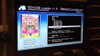 USB Loader: Kirby 20th Anniversary Collection - Wii