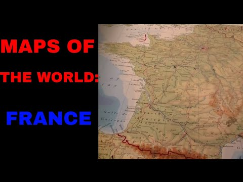 [ASMR] Maps Of The World. Part 7: France