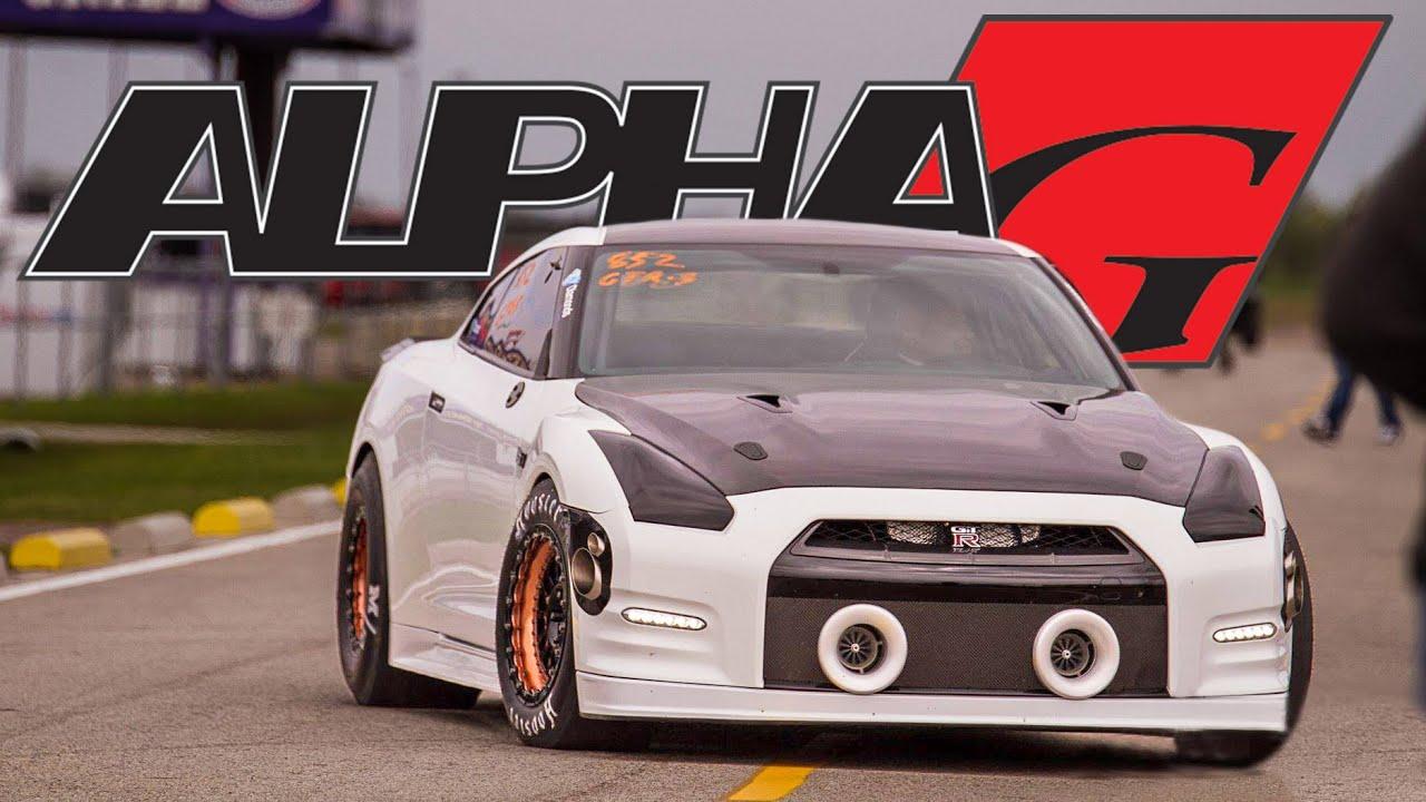 ALPHA G Nissan GT R 2000hp DRAG CAR YouTube