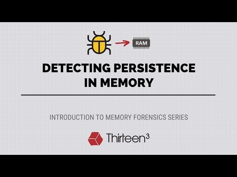 Detecting Persistence in Memory