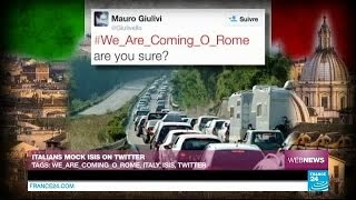 Italians mock Isis on Twitter