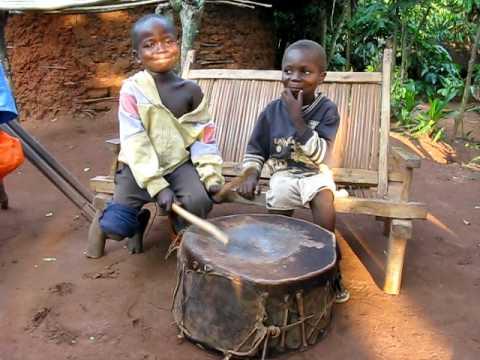 Children in Democratic Republic of Congo Make Music