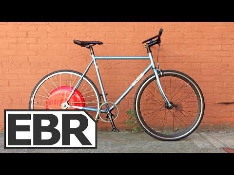 Superpedestrian Copenhagen Wheel Video Review - $1.5k Smart Electric Bike Wheel System